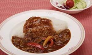 小海老と夏野菜のピラフ<br /> (スープ・サラダ付)<br /> 980円(税込)